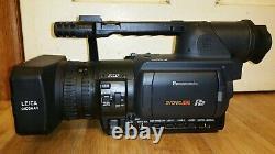 Panasonic AGHVX200 3CCD Camcorder P2 HD Card miniDV 52 Tape Hour Video Camera