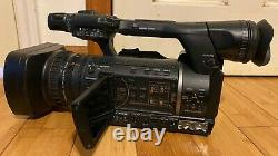 Panasonic AG-AC160AP AVCCAM Camcorder 237 Hour AC160 withSDI Two 32GB Card & Extra