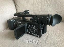Panasonic AG-HMC151E HD Camcorder (with 4 Batteries and Charger) Used