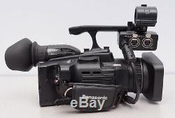 Panasonic AG-HMC40P AVCCAM HD Camcorder with Battery, Charger, AC Power Supply