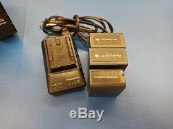 Panasonic AG-HVX200 Camcorder Case, Charger, Batteries