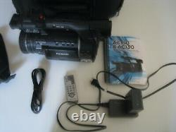 Panasonic AVCCAM Model AG-AC160P Camcorder w. Battery Charger and Kata Bag Case