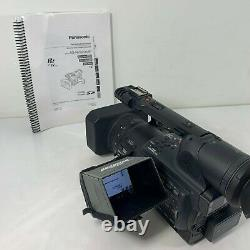 Panasonic DVCProHD P2 AG-HVX205A 3CCD with 4 Batteries, Remote, Charger & Manual