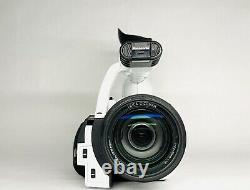 Panasonic HVX200 Camcorder White With Doskocil Case, Batteries And Charger