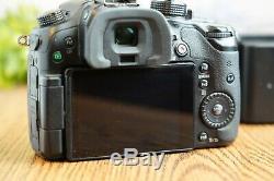 Panasonic LUMIX GH4 16MP Professional 4K Mirrorless Camera withBatteries & Charger
