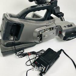 Panasonic Mini DV Camcorder Model AG-DVC7 With Case, 2 Batteries, Charger, Remote