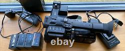 Panasonic hc-x1000 4k Camera With 4 Batteries And Charger