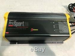ProSport 20 On-Board Marine Battery Charger 20 Amp Dual Bank Pro Mariner