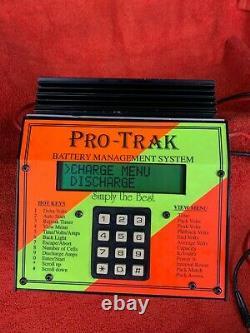 Pro-Trak RC Battery Management System 4 LCD Vintage Ni-Cd Ni-Mh RARE RC10