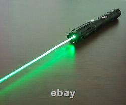 Professional Green Laser Pointer Pen 1mW Focusable Beam 520nm Wicked Best Lazer