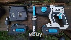Professional McAllister 18v SDS 3 Mode Breaker Hammer Drill Makita Dewalt Bosch