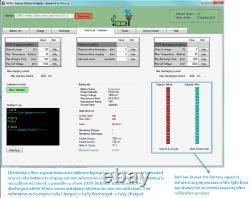 Professional Universal External Laptop Battery Analyzer Tester Charger Discharge