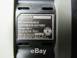 RARE Craftsman Professional 20 volt Black Drill Light Lithium Battery Set 31896