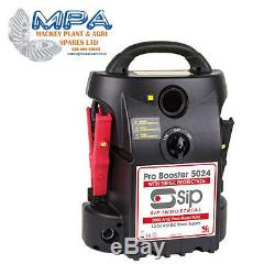 SIP 07192 PRO BATTERY BOOSTER PACK 5024 (12v/24v) HEAVY DUTY RESCUE JUMP START