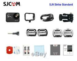 SJCAM SJ9 Strike Gyro/EIS Supersmooth 4K 60FPS WiFi Remote Action Sports Camera