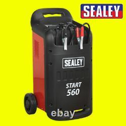 Sealey Professional Car/Commercial Battery Starter/Charger 12/24V 230V-START560