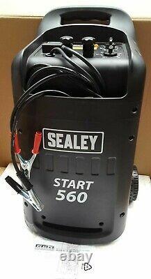 Sealey START560 Professional Car/Commercial Battery Starter/Charger 12/24V 230V