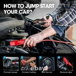 Smart Intelligent Car Jump Starter Booster Battery Charger Automatic Pack 12V UK