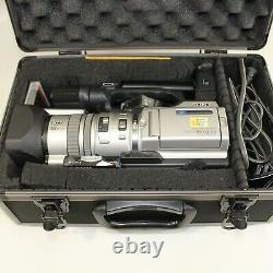 Sony DCR-VX2000 Camcorder Silver Comes With Tapes Remote Charger and Batteries