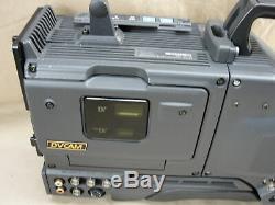 Sony Dxc-d35ws Video Camera Digital Dvcam Fuji A16 Lens Bc-m50 Battery Charger