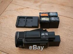 Sony FDR-AX53 Ultra HD 4K Camcorder + spare batteries and charger