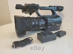 Sony HVR-Z7U High Definition DV Camcorder W Batteries/Charger