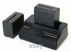 Sony HXR-NX5E Camcorder 2 batteries, charger, Kata CC193 case (2 available)