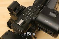 Sony PMW-EX3 full HD 3-CMOS broadcast camcorder complete with batteries, charger