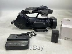 Sony PMW-EX3 full HD 3-CMOS camcorder with new battery, charger, 32gb SXS card