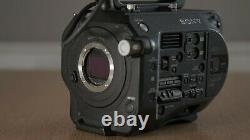 Sony PXW-FS7, 3x Sony 128GB XQD cards, Batteries, Charger