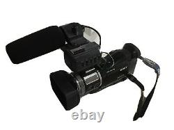 Sony hvr-a1e, battery and charger
