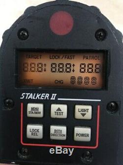 Stalker II SDR 2 34.7 Ka Radar Gun with Battery + Charger + Case