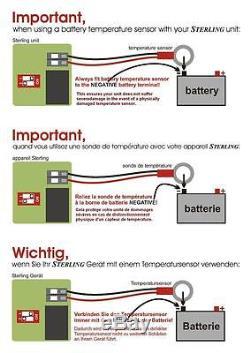 Sterling Power BB1260 Pro Batt Ultra Battery to Battery Charger 12V-12V 60A DC