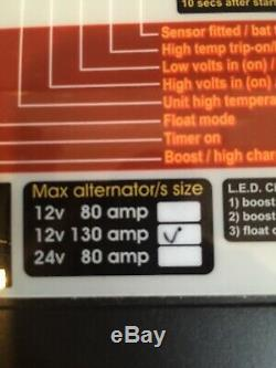 Sterling Power Pro Alt C 12v 130A AB12130 Alternator to Battery Charger