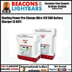 Sterling Power Pro-Charge Ultra 12V 50A Battery Charger PNPCU1250 3 OUT