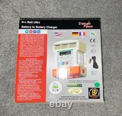 Sterling Pro Batt Ultra Battery to Battery Charger 12v-12v 60a, New In Box