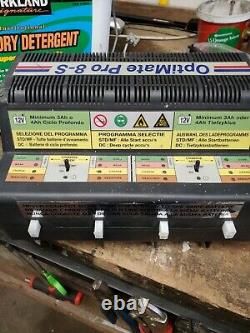 Tecmate Optimate Pro 8 Professional 8 Bank Automatic Battery Charger /Tester 12V