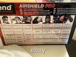 Trend airshield pro TH2P battery powered respirator With Filters & Charger