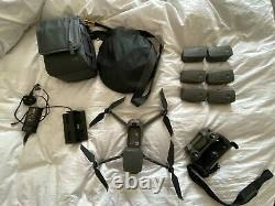 Used DJI Mavic 2 Pro Drone, 6 Batteries, 4 battery charger + bag and landing mat