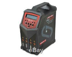 VNR0686 Venom Power Pro Quad 4-Port AC/DC Battery Charger (6S/7A/100W)