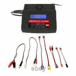 Venom 35C 3S 5000mAh 11.1V LiPo Battery Hardcase and Pro 2 Charger Combo