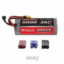 Venom 35C 3S 5000mAh 11.1V LiPo Battery Hardcase and Pro Duo Charger Combo