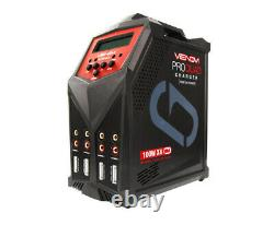 Venom Pro Quad 100W 4-Port AC DC 7A LiPo LiHV & NiMH RC Battery Balance0686