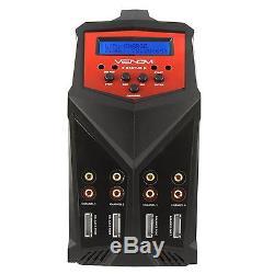 Venom Pro Quad 100W 7A 4-Port AC/DC LiPo LiHV NiMH Battery Balance Charger 0686