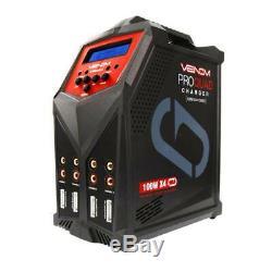 Venom Pro Quad LiPo/LiHV/NiMH Battery Charger