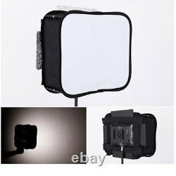 YONGNUO YN900 LED Video Light 3200 5500K PRO KIT Battery Softbox Charger AC adap