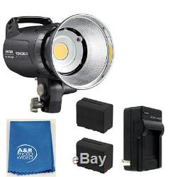 Yongnuo YN760 5500k PRO LED Light Kit With Two High Power Batteries charger 80W